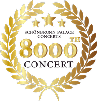 On the 3rd of April 2019 the Schoenbrunn Palace Concerts celebrate a special jubilee: on this day the 8000th Schoenbrunn Palace Concert takes place.