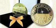 Gold-Ticket Goldmünze Schloss Schönbrunn - Mozart
