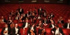 Die Musiker des Schloss Schönbrunn Orchesters Wien.