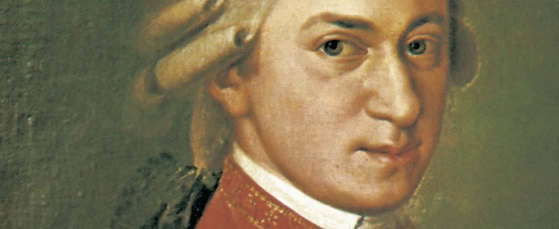 Wolfgang Amadeus Mozart and Johann Strauss