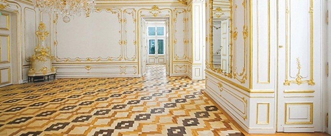 Enjoyable White And Gold Room Interior Design Ideas Tzicisoteloinfo
